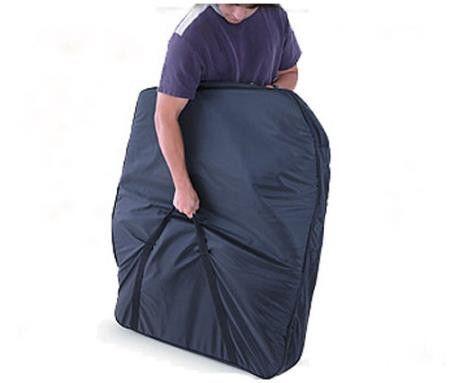 Door Storage Bag 76-06 Wrangler CJ Hard Doors Pair Black Smittybilt