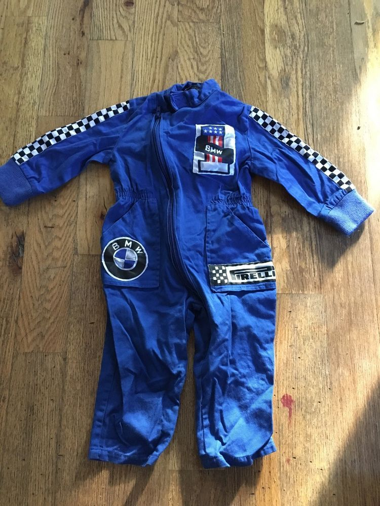 7c9331397ce2 Certified Kids Size 18 Mo Blue Mechanic or Racing Jumpsuit BMW Pirelli  Costume  fashion  clothing  shoes  accessories  costumesreenactmenttheater   costumes ...