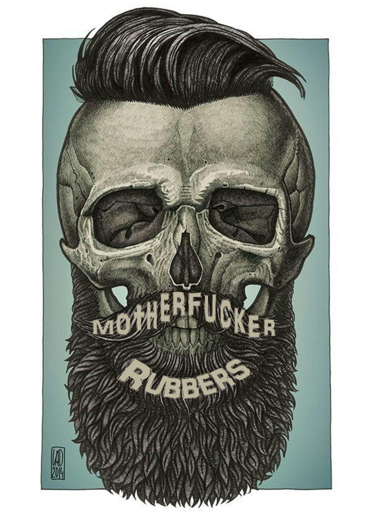 Fear The Beard Moforubberscom #Beardlife #Beardedmen #Beard #Skull #Art #