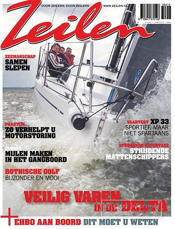Coverbeeld Zeilen juni 2013   Klaas Wiersma Fotografie