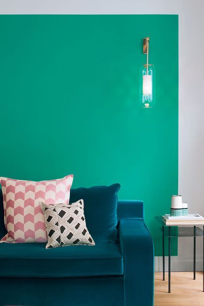 Peinture couleur salle de bain, chambre, cuisine Salons - Quelle Couleur Mettre Dans Une Chambre