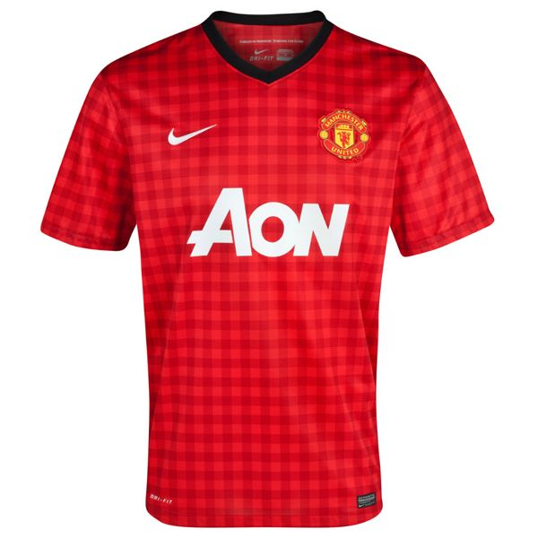 Manchester United 12 13 Home Shirt Nike 479278 623 Manchester United Football Shirts Soccer Jersey