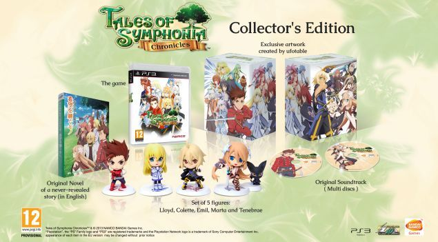 Annunciata la Collector's Edition di Tales of Simphonya Chronicles