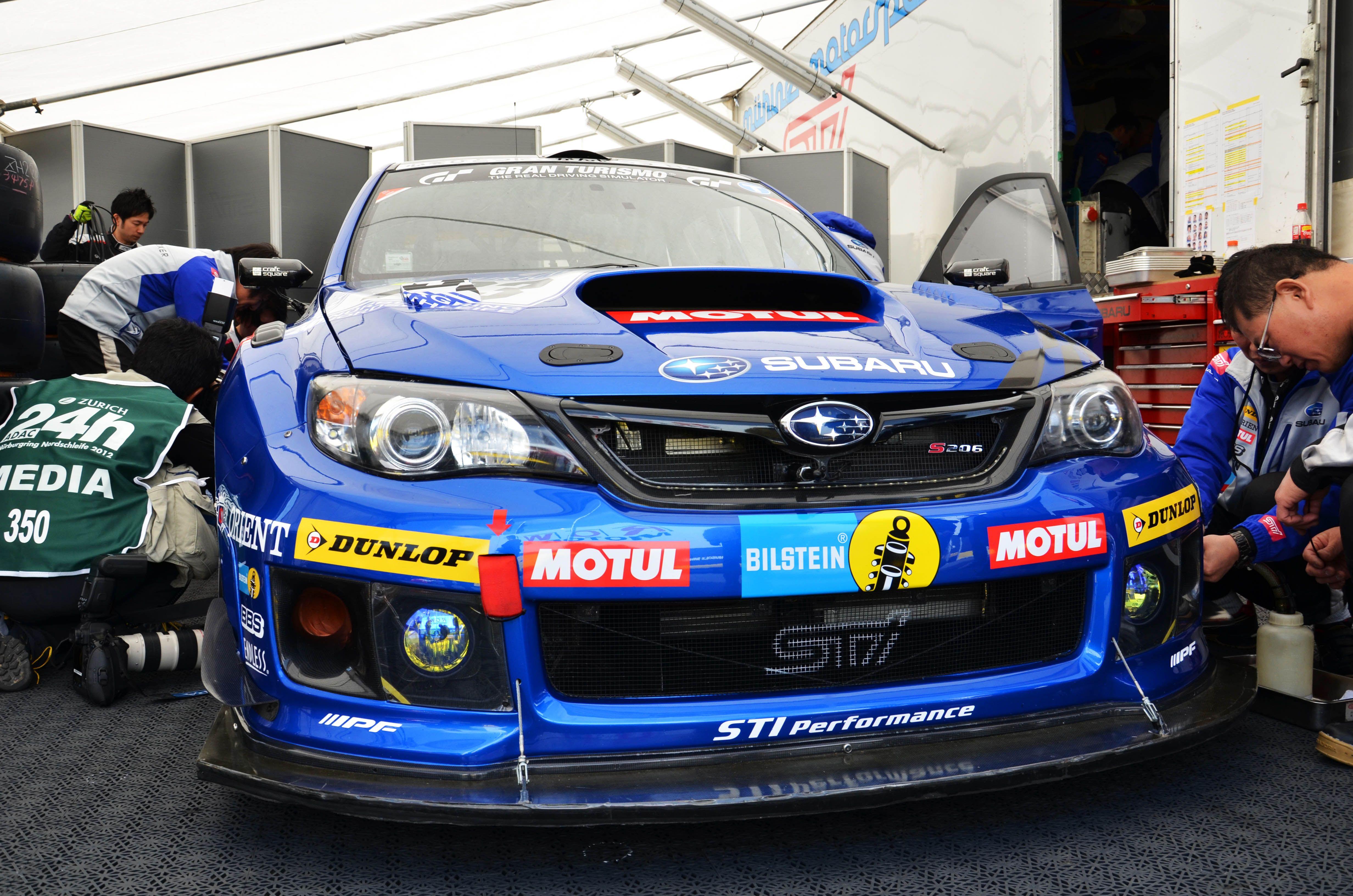 24h Nürburgring 2012 Subaru Subaru Rally Subaru Impreza