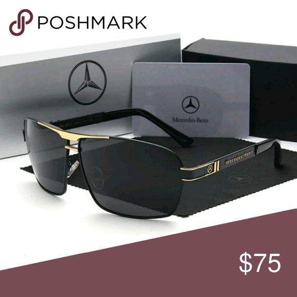 131f6e3ba026 Mercedes Benz Mens Polarized Sunglasses Mercedes Benz Mens Polarized  Sunglasses. Includes case