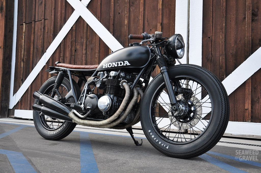 Gambar Gambar Motor Cafe Racer Motorcycles Pinterest Honda