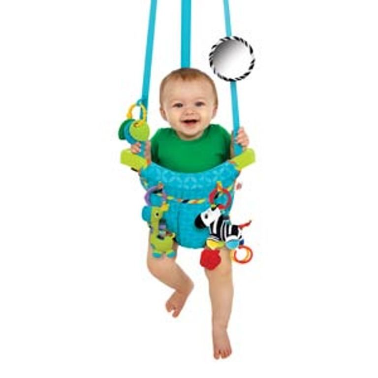 Bright Starts Bouncin\' Around Door Jumper This door jumper provides ...