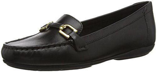 019c5ec70efb8d Geox D Annytah MOC A Mocassins (Loafers) Femme Noir (Black C9999) 39 ...