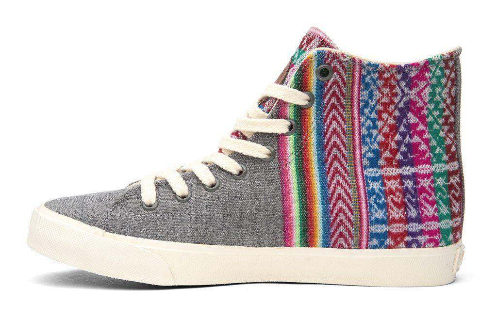 2016 Slate Grey High Top Sneakers – INKKAS Global Footwear