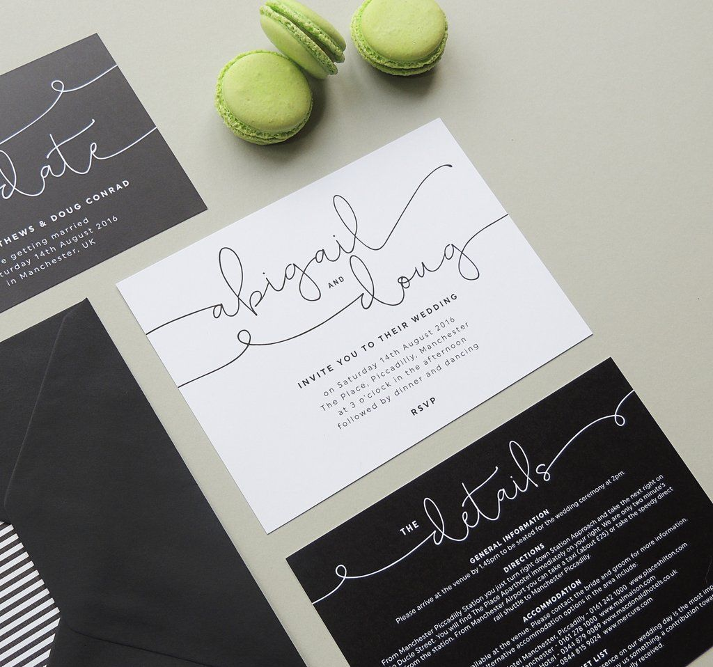 Kate Wedding Invitation | Weddings, Belly bands and Rsvp