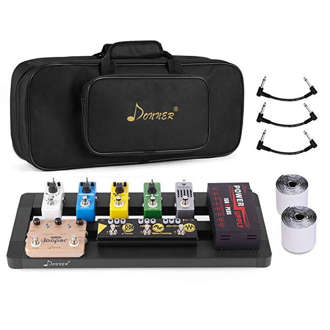 Pedal Board for Danny's Effects Pedals #guitarpedals
