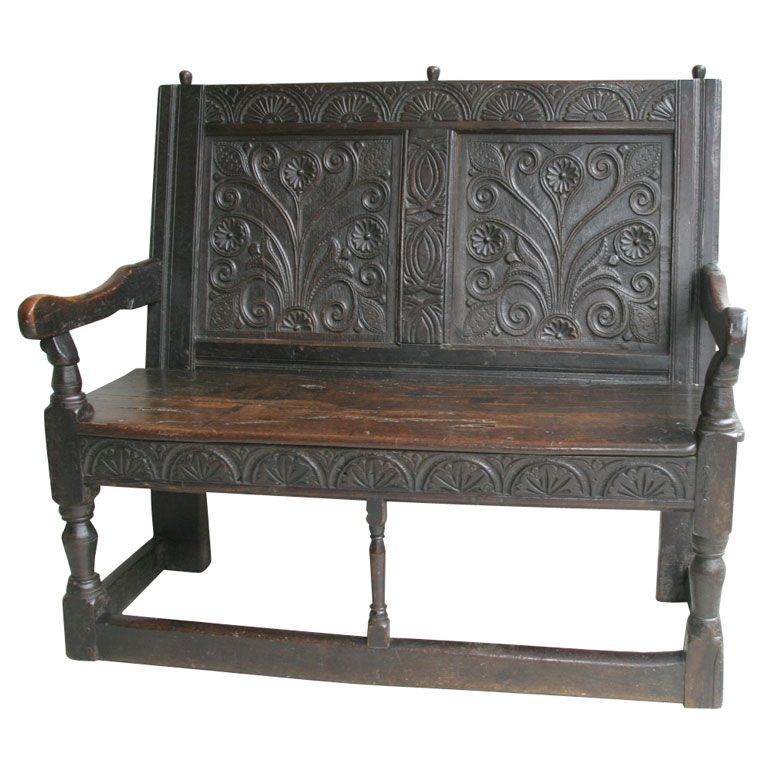 The jacobean bench wainscoting and three floor