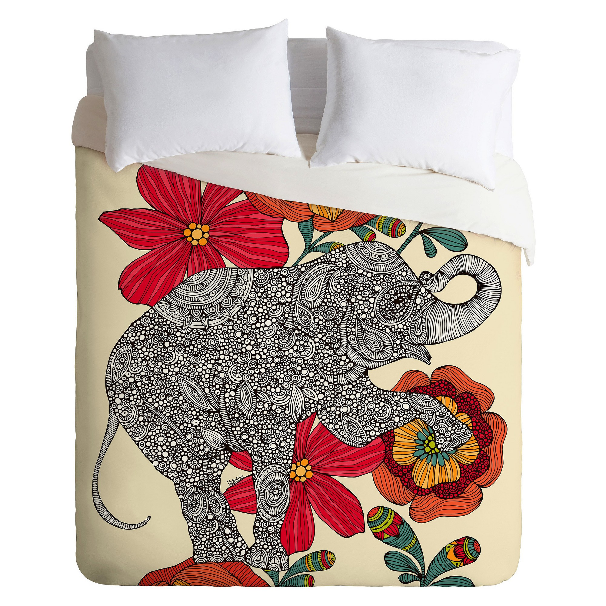 covers royal elephant pillow prints with king patch work size sheet duvet bed lali cover
