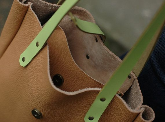 SALE FOKS FORM #Bag 03 #Minimal #leather #tote #bag