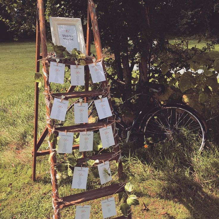 Rustic table plan For A Rustic Meets Romantic Wedding Ideas