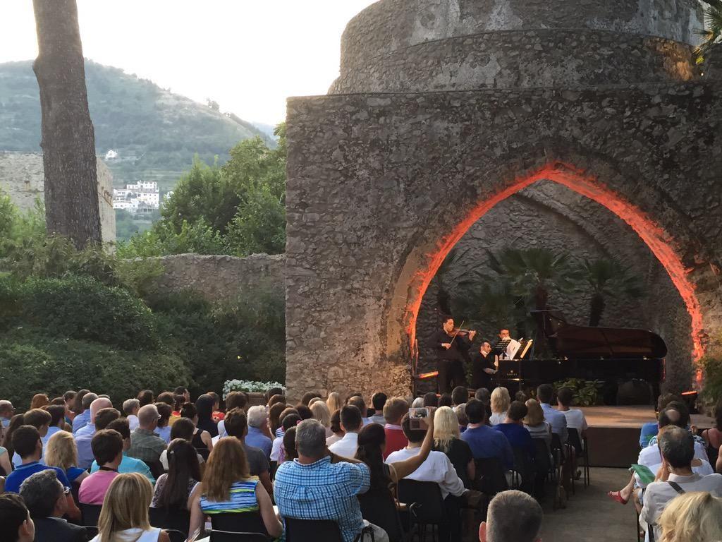 Wonderful evening in Ravello!
