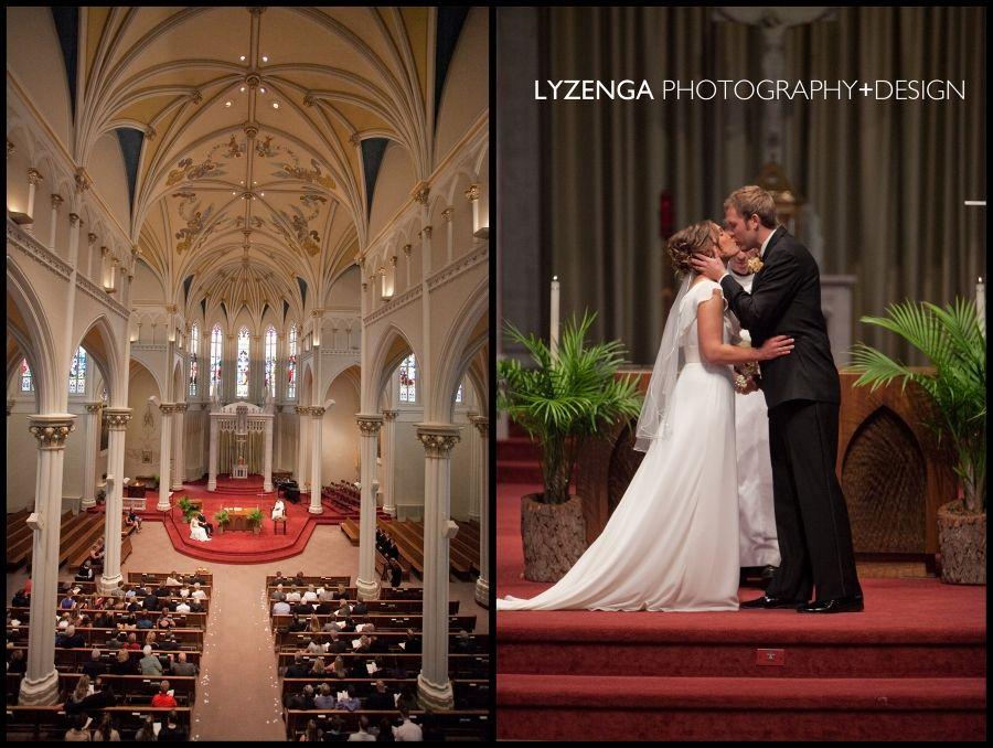 Jenna Jeff Grand Rapids Wedding Photography St Alphonsus Parish