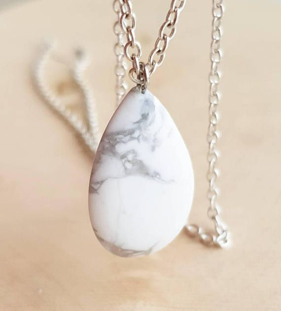 f8f65e6c139292 Cacholong Necklace White Gemstone Necklace Milky White Opal Necklace For  Pregnat Women Natural Raw Opal Pendant Gift For Sister Gift For Mom