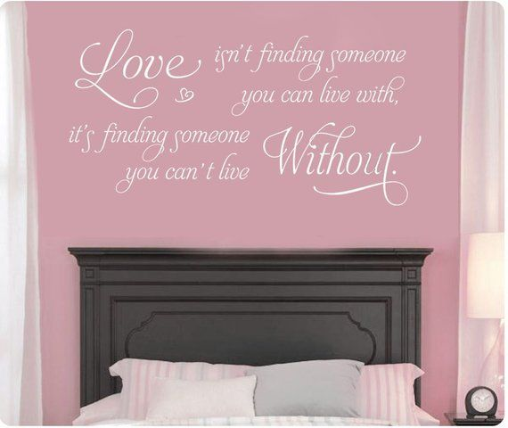 46 Love Isn't Finding Someone You Can Live With   Etsy ...