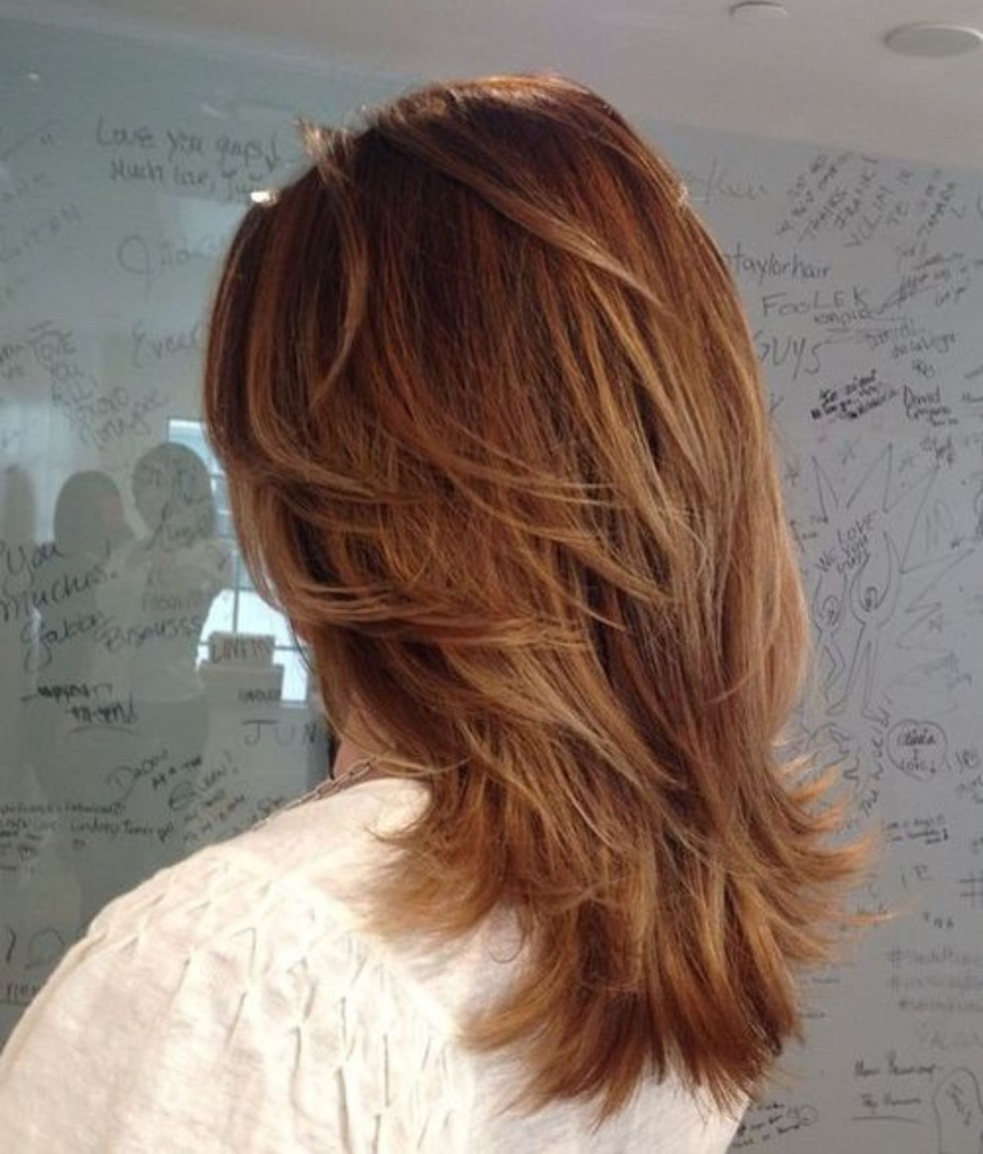 70 Brightest Medium Layered Haircuts To Light You Up Medium Layered Haircuts Haircuts For Medium Hair Hair Styles