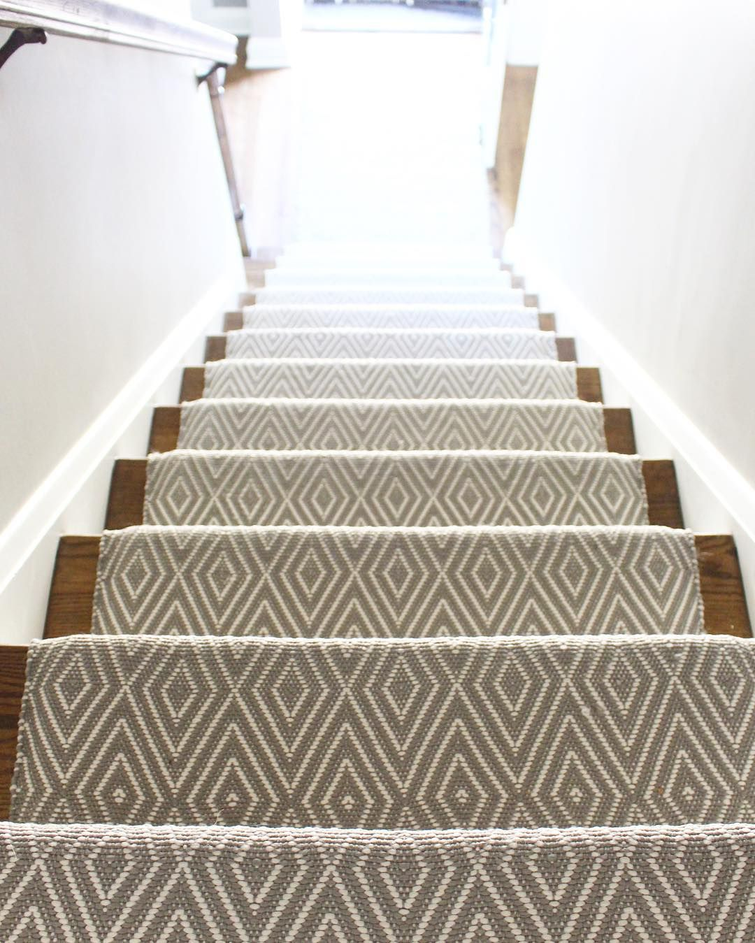 Wide Stair Runner W Pattern Carpet Stairs Stair Runner Carpet | Stair Runners For Carpeted Stairs | Round Corner | Marble | Hardwood | Commercial | Tile Stair