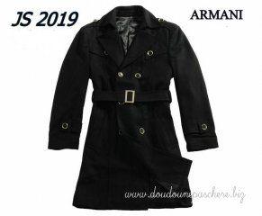 Blouson Armani Emporio 2012 Hiver Nouveau Homme Manteaux Original Laine Noir 7c1fce479f2