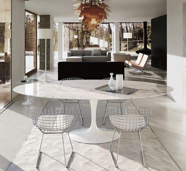 Saarinen Tavolo Ovale | Tavolo ovale, Tavoli da pranzo in ...