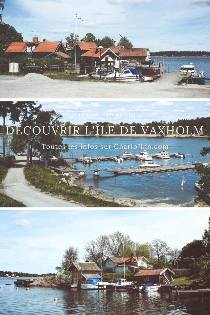 Itinéraire photographique d'une journée à Vaxholm