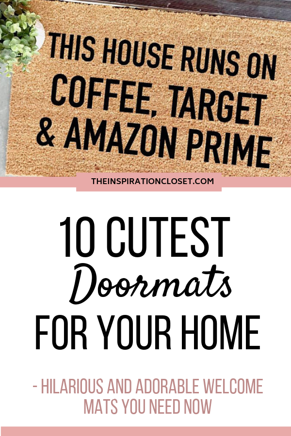 10 Cute Doormats I M Obsessing Over Fall Doormat Funny Doormats