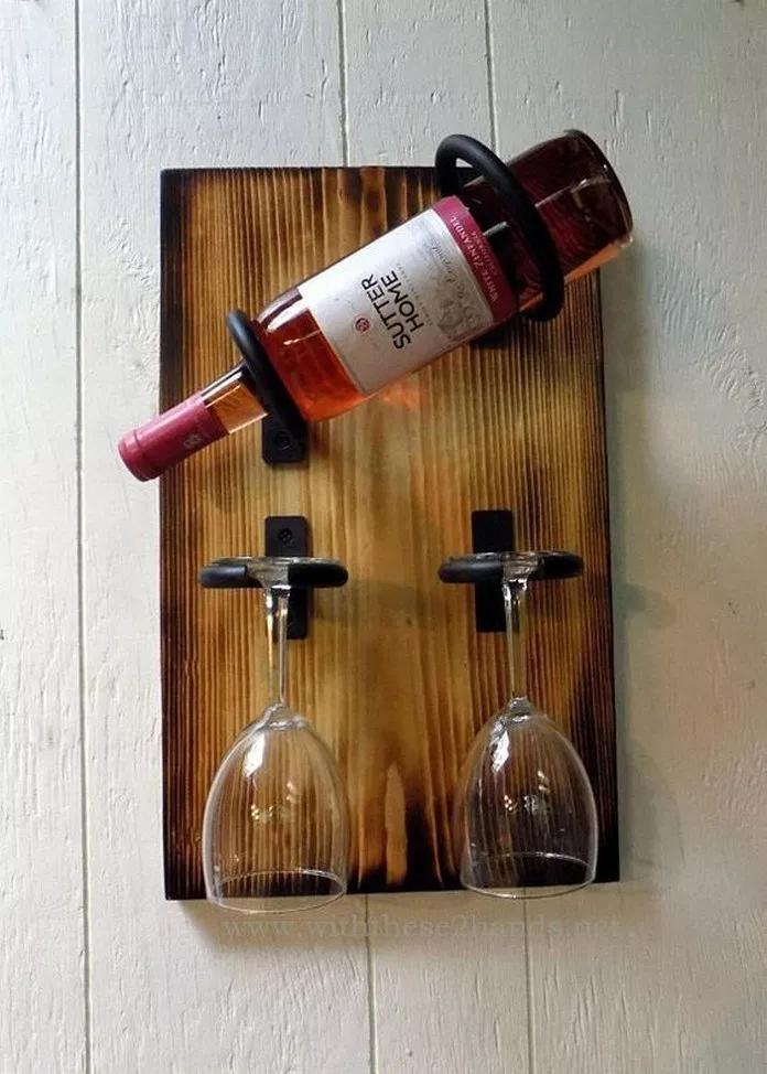 36 Creative Diy Wine Racks For Your Collection 2 En 2020 Avec