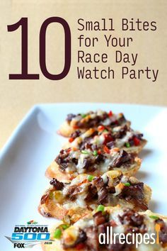 10 small bites for your race day watch party easy finger food 10 small bites for your race day watch party easy finger food recipes so you forumfinder Image collections