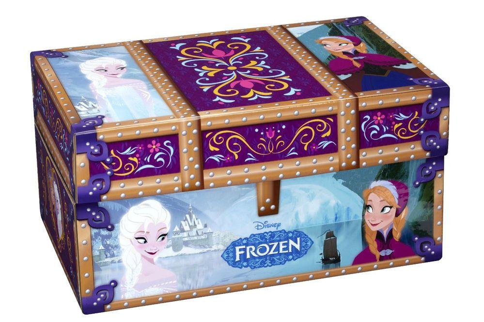 Disney princess frozen dress up travel trunk 2 elsa anna