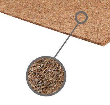 Plaque de coco caoutchouté pour matelas et meubles tapissés M017