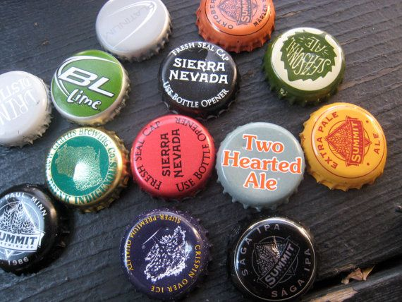 Father/'s Day Gift Beer Bottle Cap Magnets Wedding Party Favors Man Cave Stuff 100 Beer Magnets