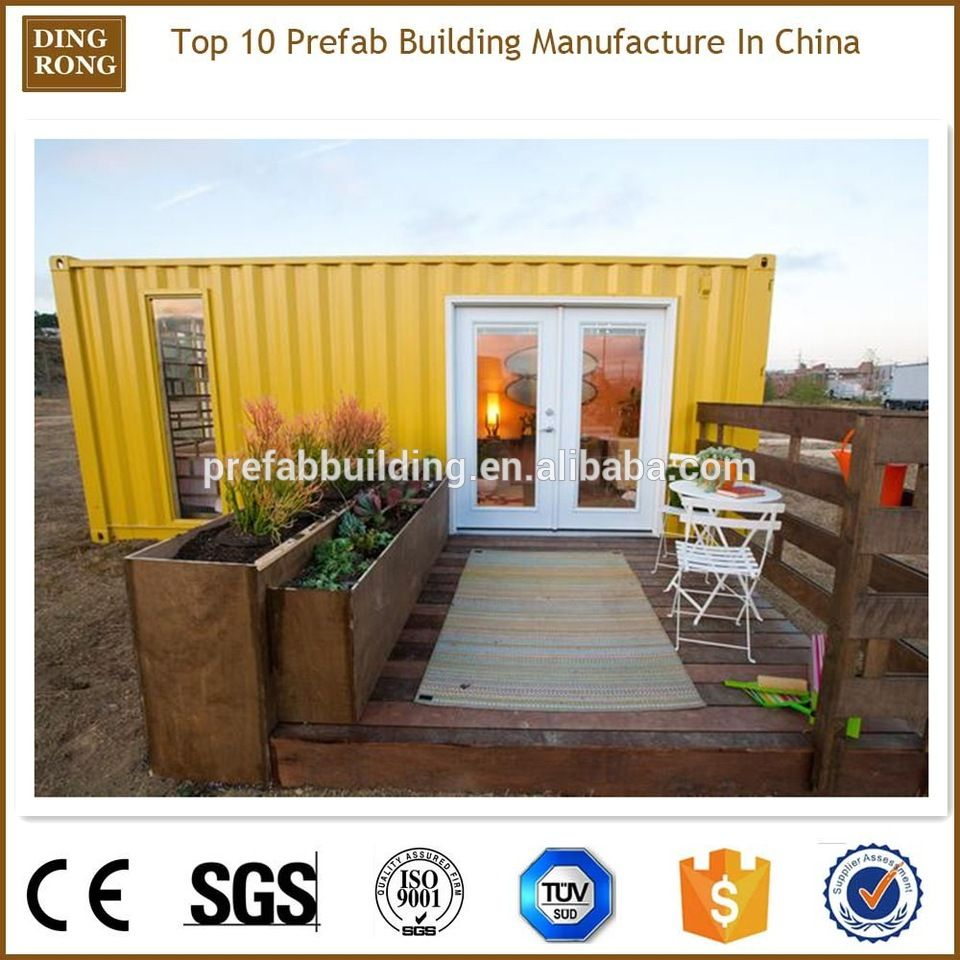 40 Feet Container Homes: Pre-made Push Up 40 Feet High Cube Container Homes Greece
