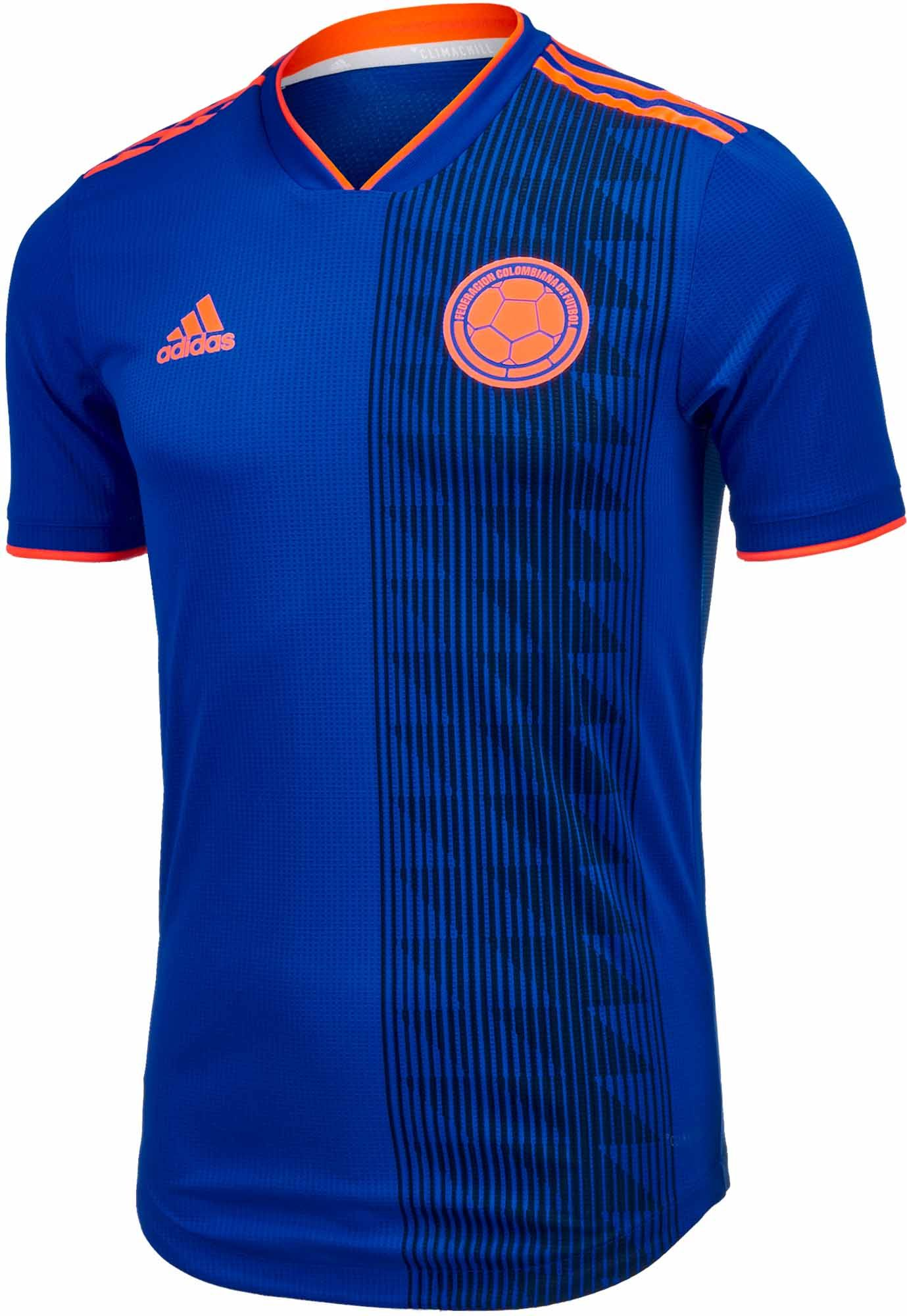 4c9839aca93 2018 19 adidas Colombia authentic Away Jersey. Buy it from SoccerPro.