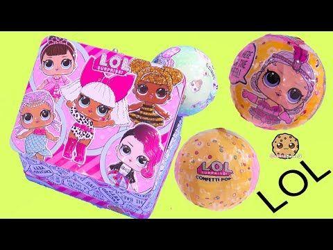 Lol Surprise Box Blind Bag Balls With Color Change Doll