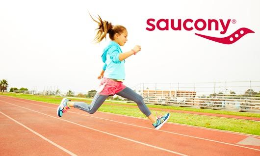 saucony kids running shoes