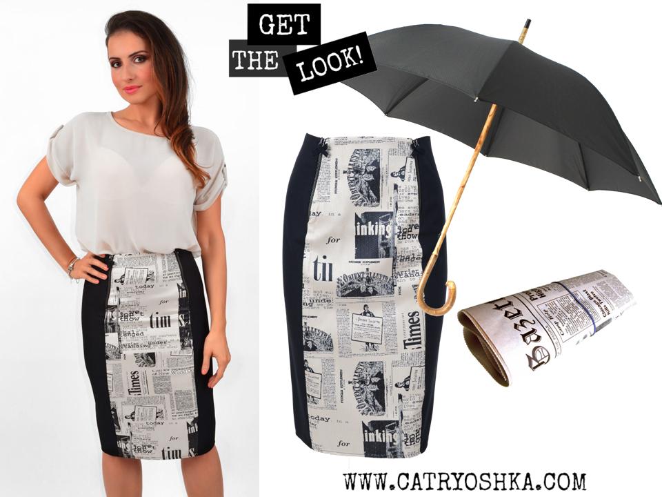 Rainy day outfit  www.catryoshka.com