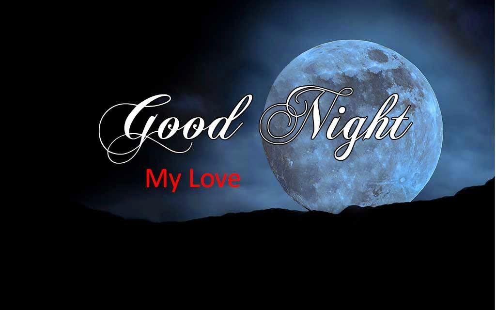 Romantic Good Night Sweet Dreams My Love Full Moon Hd Images Download Free Sweet Good Night Images Good Night Image Good Night Wishes
