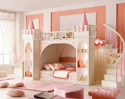 Habitaciones para princesas | Dormitorios infantiles ...