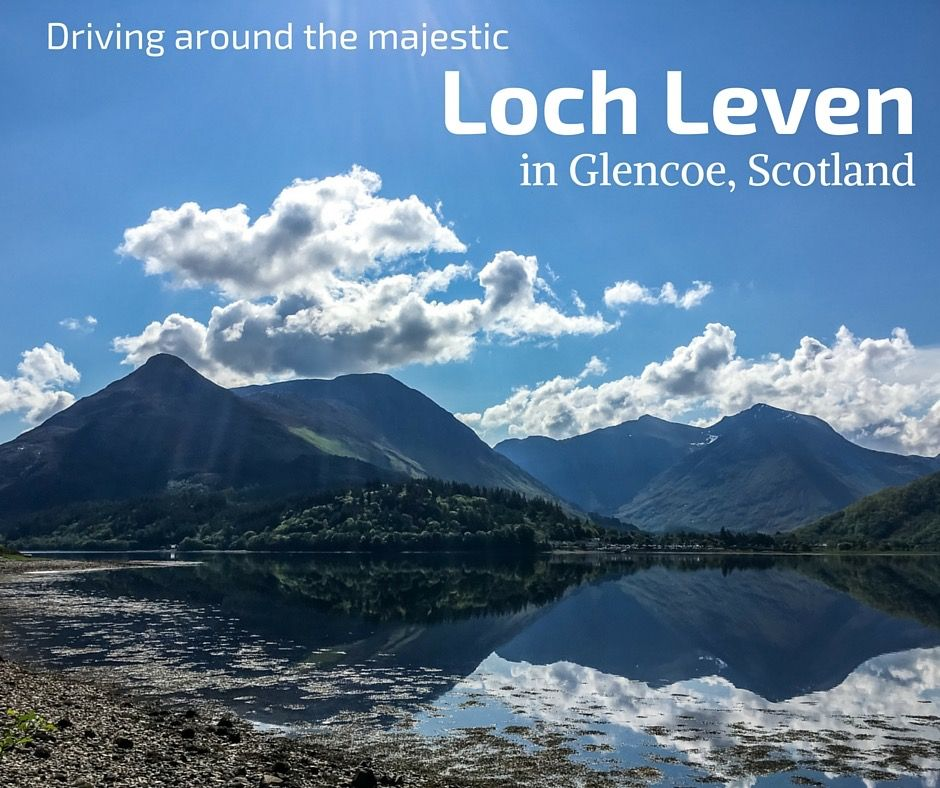 Discover one of the most scenic loch in Scotland - Loch Leven in the Glencoe area - Photos, video and info to plan your visit