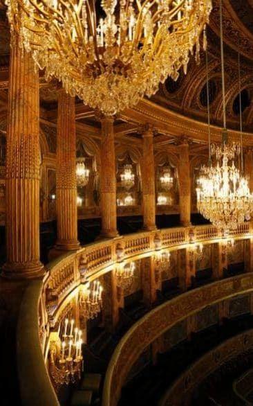 Royal Opera House of Versailles Versailles - decadent beauty
