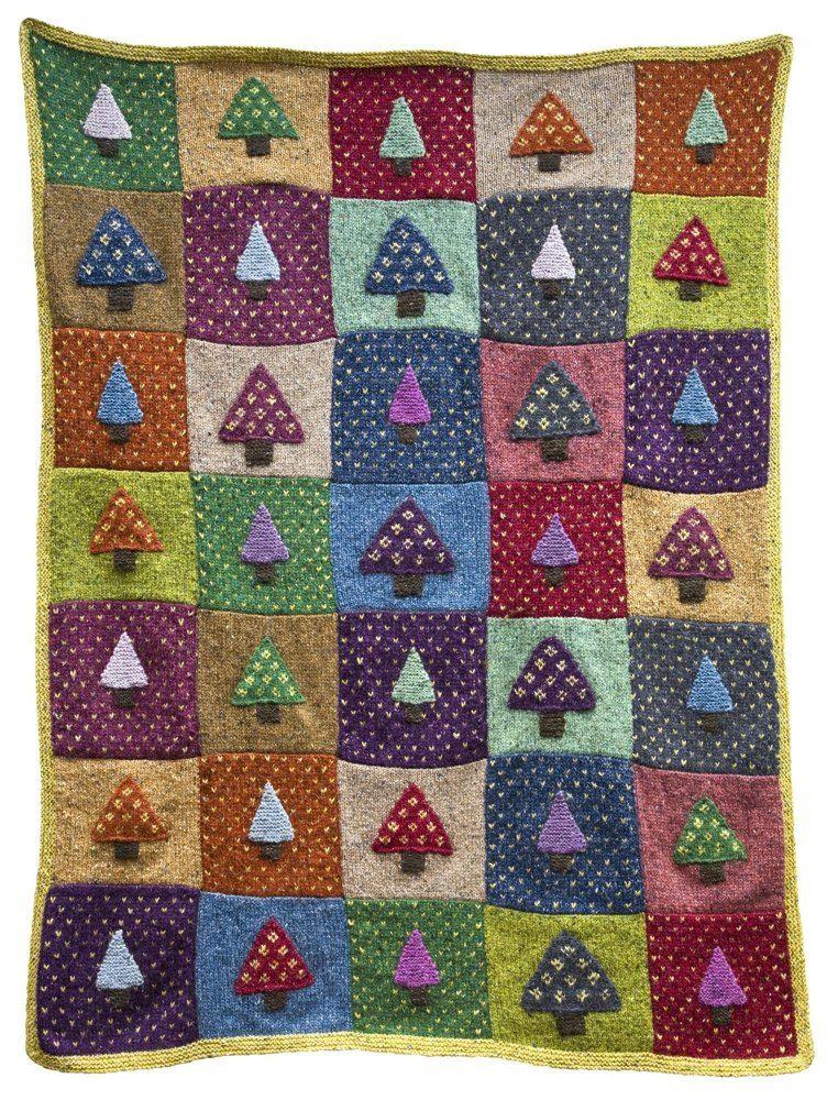 Nordic Throw Knitting pattern by Martin Storey | Knitting ...