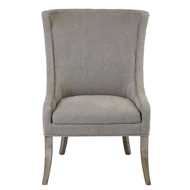East At Main's Cecilie Occasional Chair, Brown (Oak
