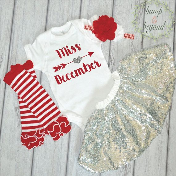Outfits & Sets Baby Girl Christmas Outfit Aged 1 Baby & Toddler Clothing