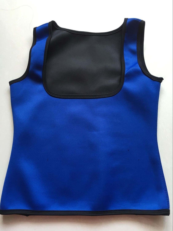 6495b00edee96 MUKATU New body Shaper tank top Shirt Women Neoprene Hot Shapers CAMI sweat Shirt  Redu Tops