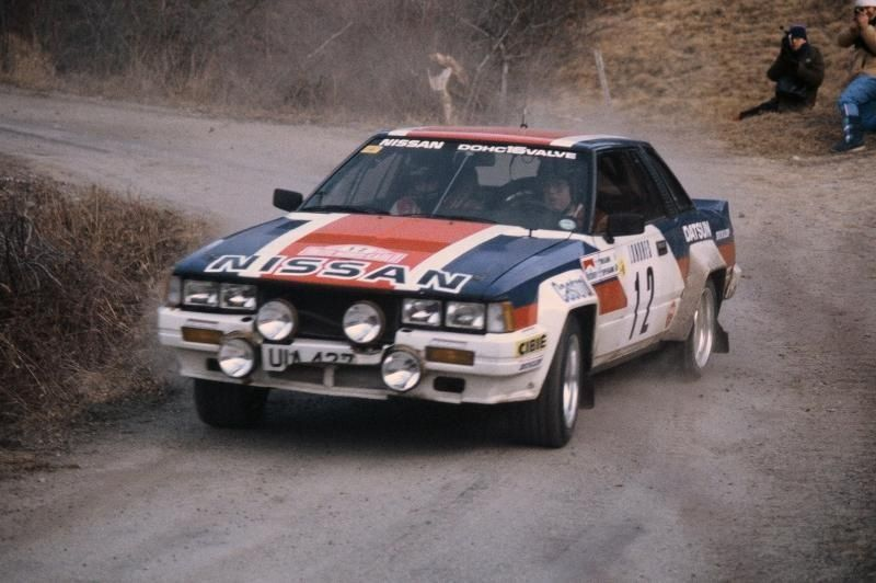 Timo in his 240 rs