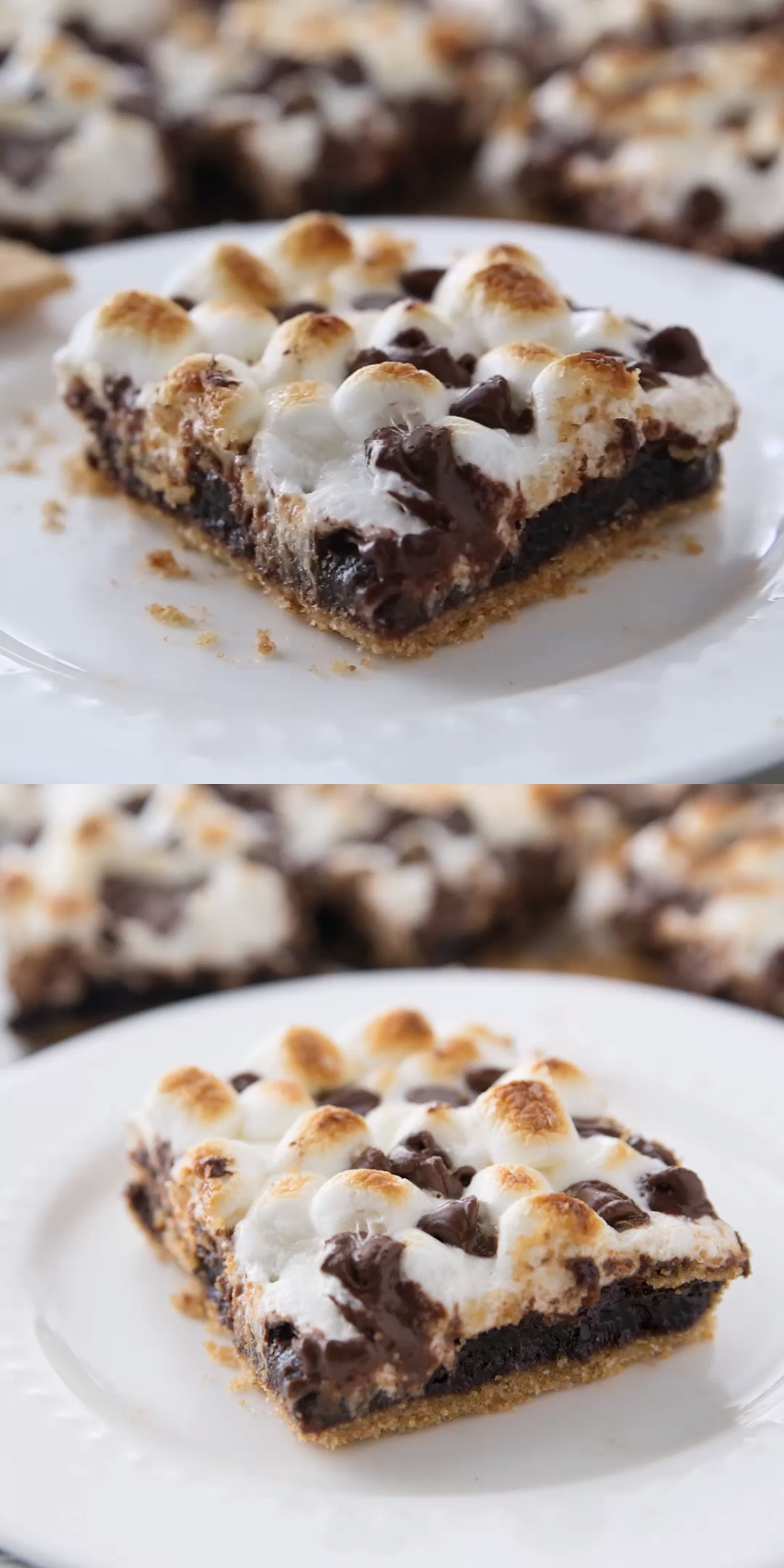 S'mores Brownies #marshmallow