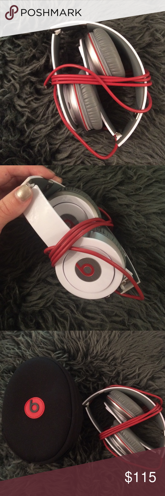 Beats White beats with original case Other